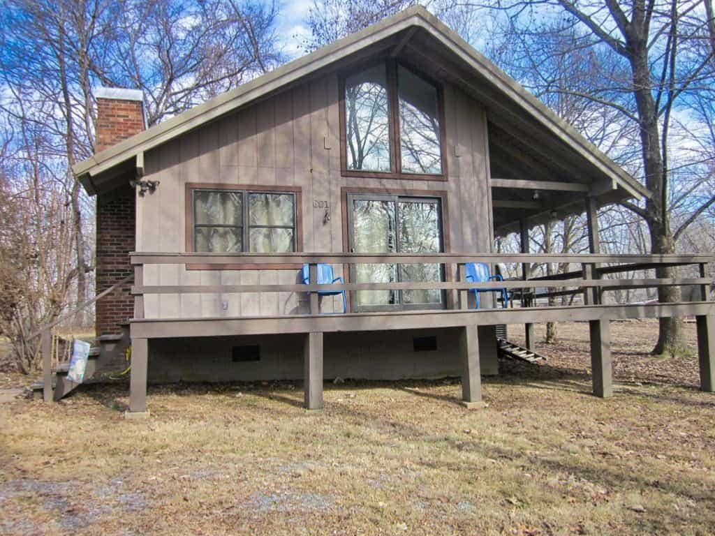 Cumberland Shores Cabin Exterior