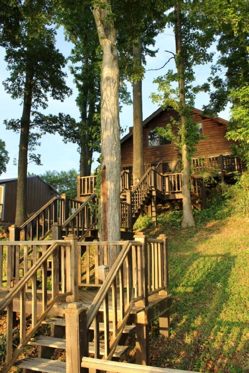 Log Cabin On Lake Barkley Lake Barkley And Cadiz Ky For