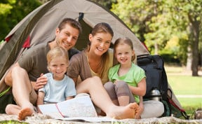 Prizer Point is a Great Family Kid-Friendly Place to Camp