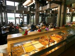 All you can eat buffet at Lake Barkley State Resort Park