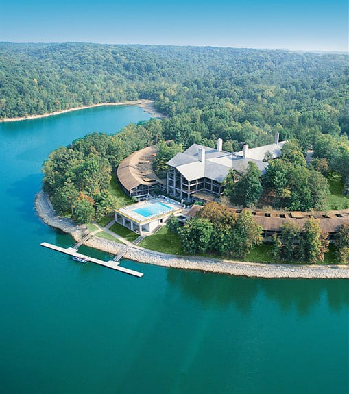Lake Barkley Resort from the Air