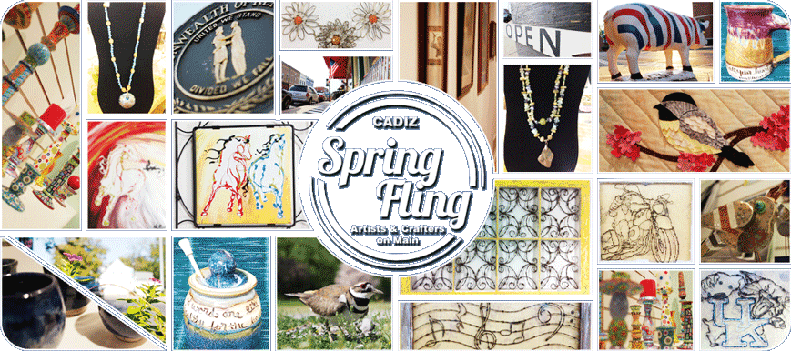 Spring Fling Downtown Cadiz