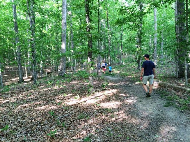 Family Hiking at LBL
