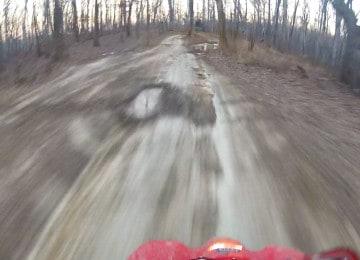 4wheeler truckin' super fast